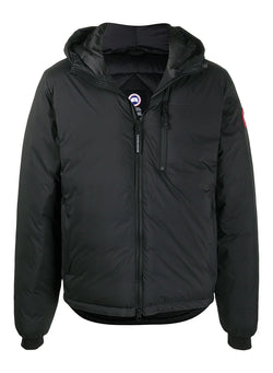 canada goose lodge hoody jacket black aw 2020