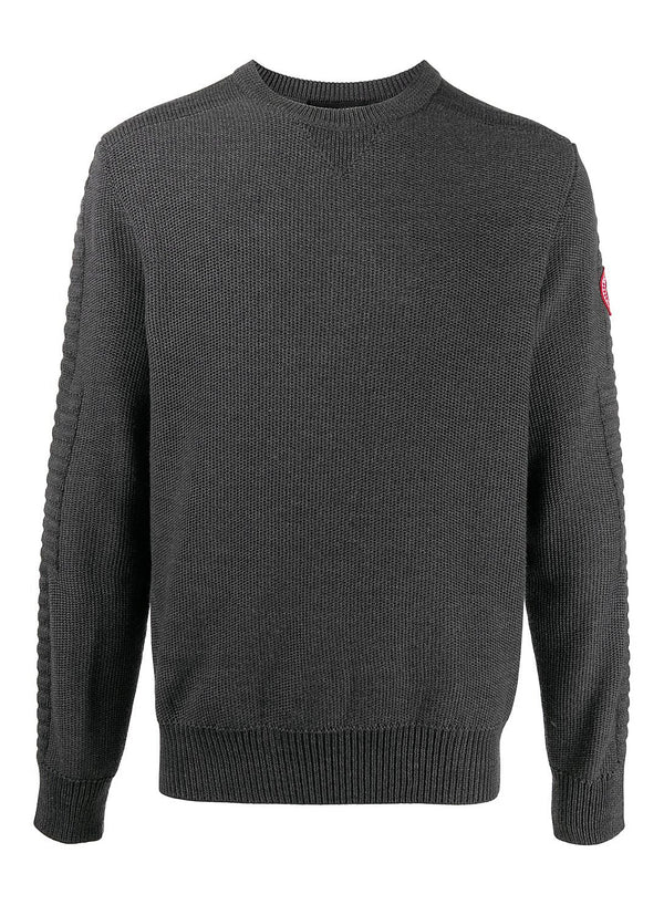 canada goose paterson sweatshirt iron grey aw 2020
