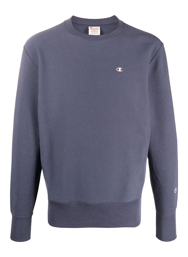 champion crewneck small logo sweat grey ss 2020