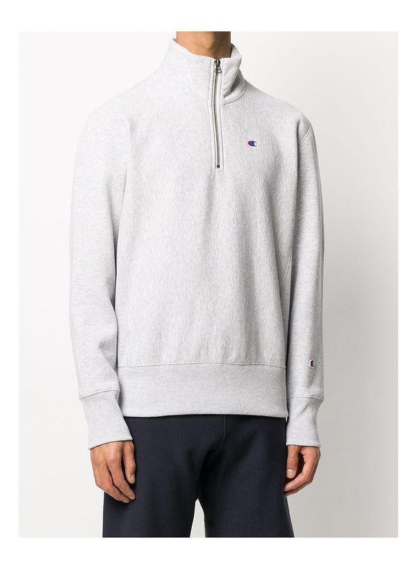 Half zip Sweat - Grey