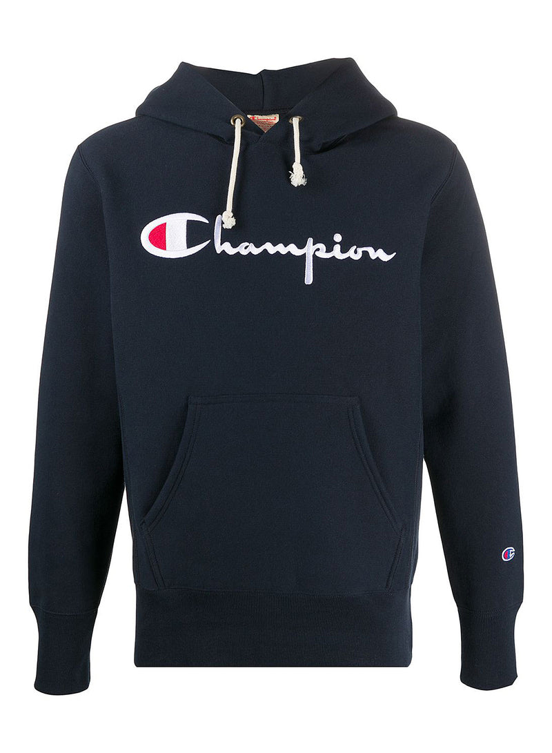 champion reverse weave hoodie navy aw 2020