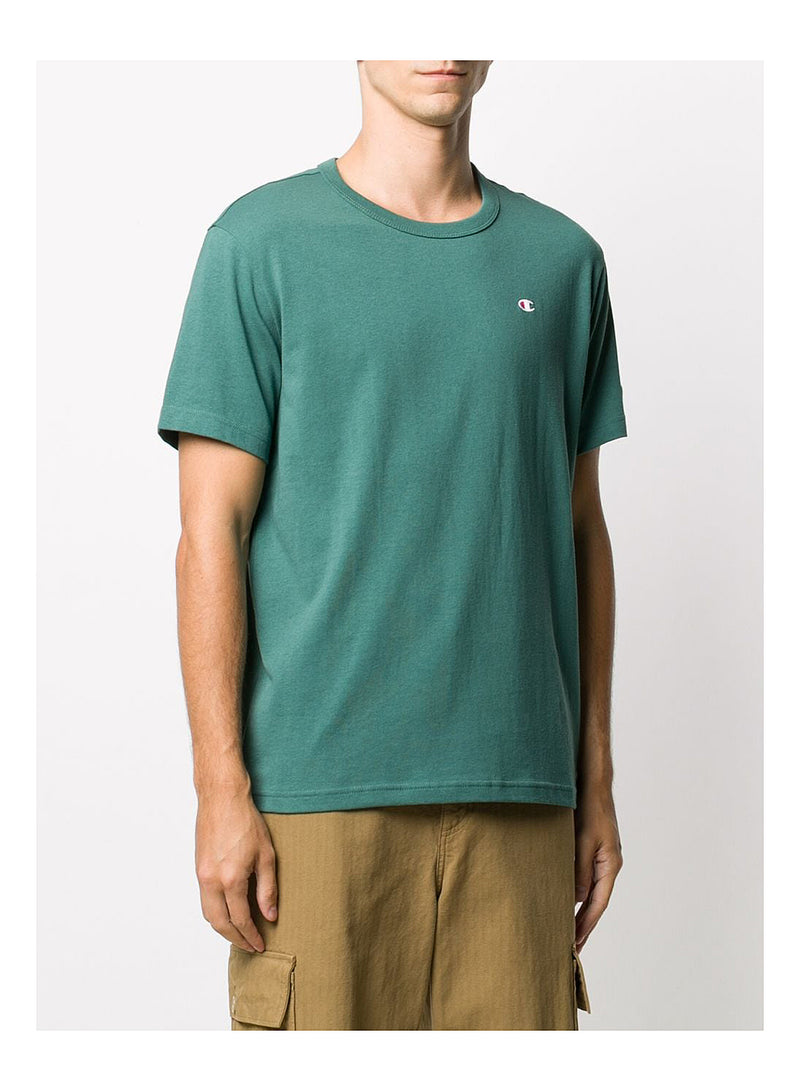 Small Logo Crew Neck Tee - Green
