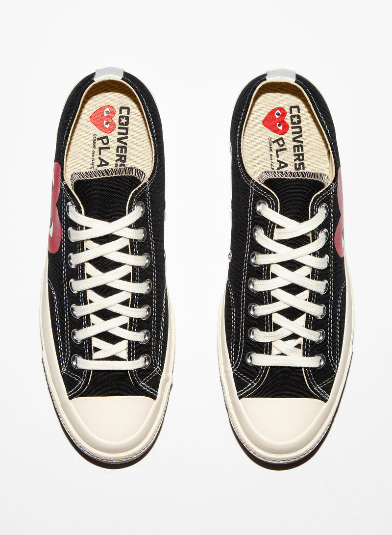 Converse Chuck Taylor PLAY Low Trainer - Black