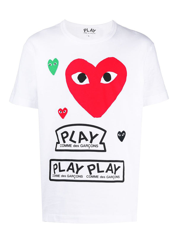 Red Heart PLAY Tee - White