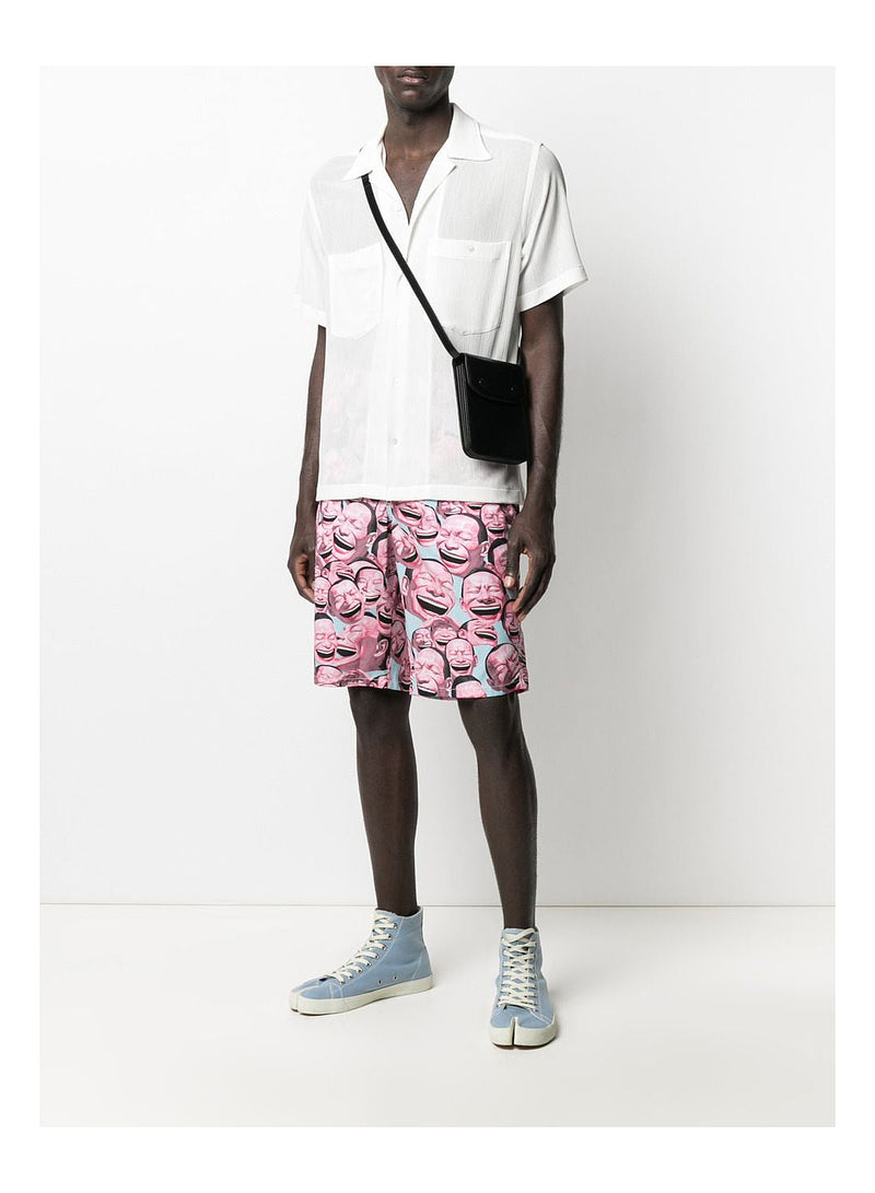 All Over Print Face Shorts - Print