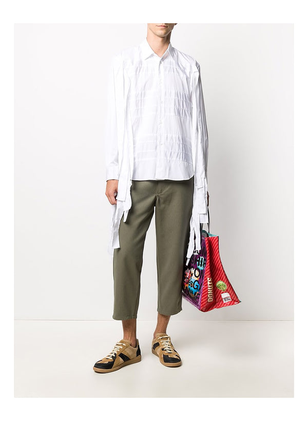 Cotton Twill Trouser - Khaki