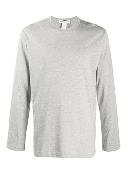 comme des garcons shirt long sleeve tee grey aw 2020