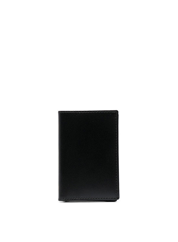 comme des garcons wallet classic leather small wallet black ss 2021