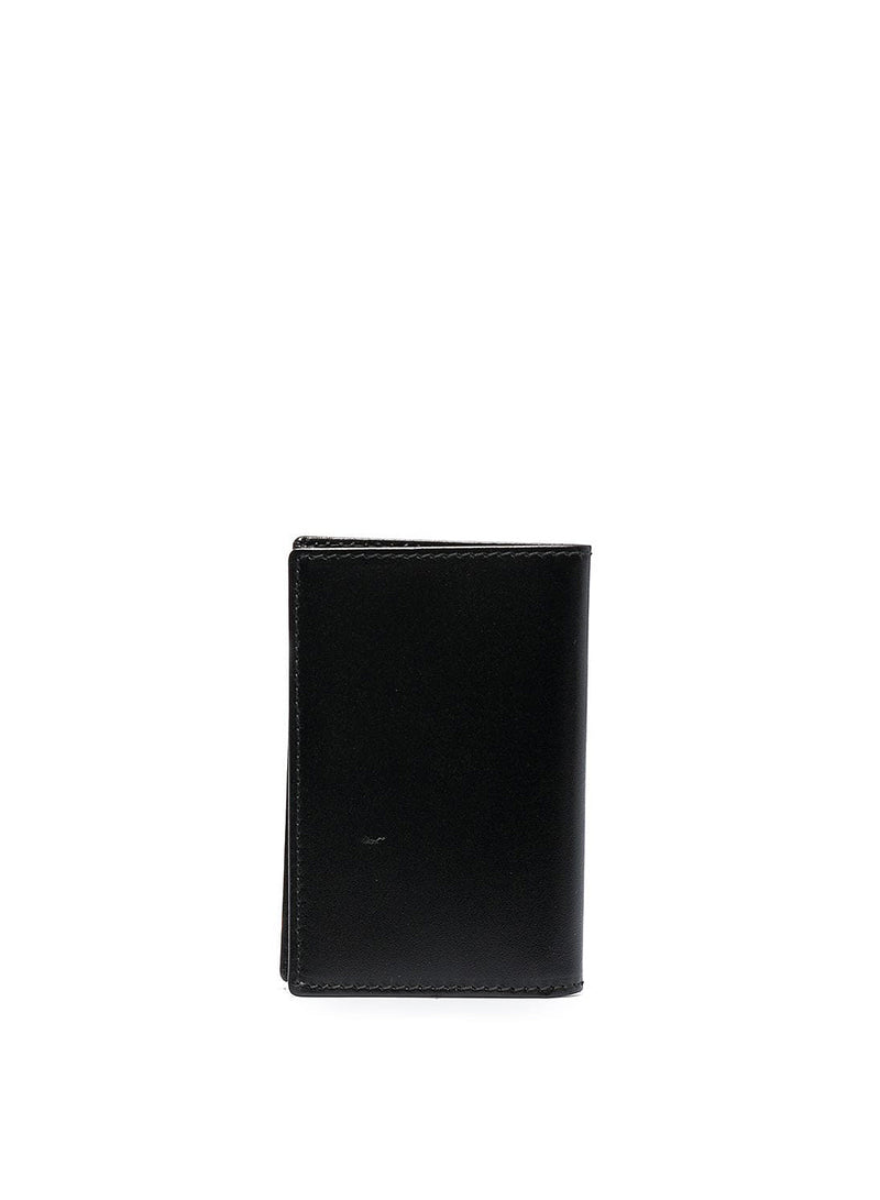 Classic Leather Small Wallet - Black