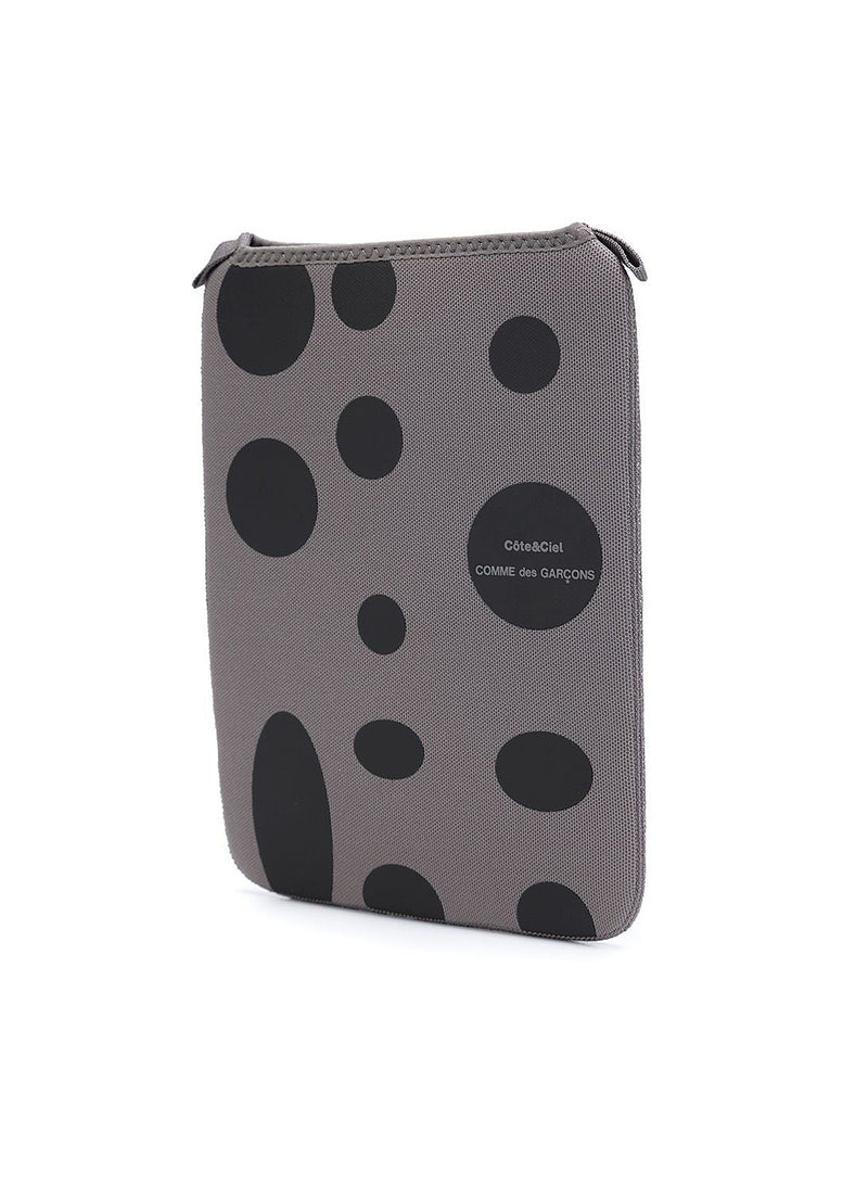 Cote&Ciel X CDG Black Dot Ipad Case - Grey