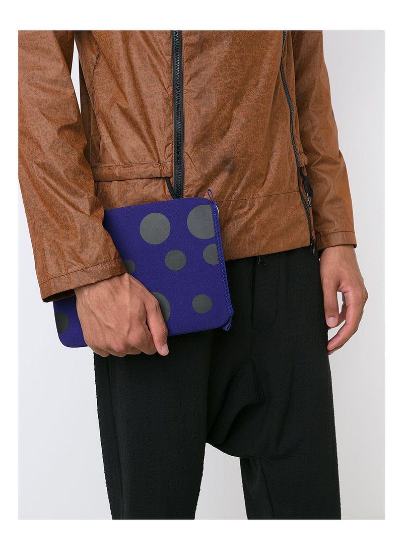 Cote&Ciel X CDG Black Dot Ipad Case - Blue