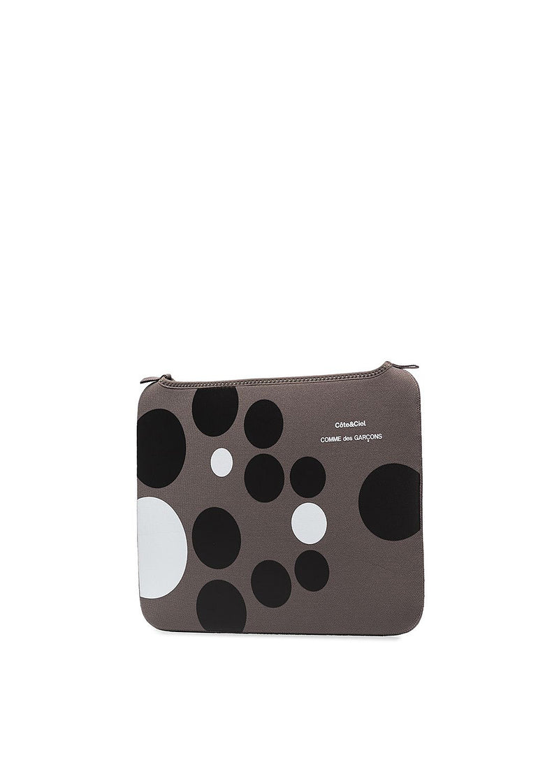 Cote&Ciel X CDG Polka Dot Ipad Case - Grey