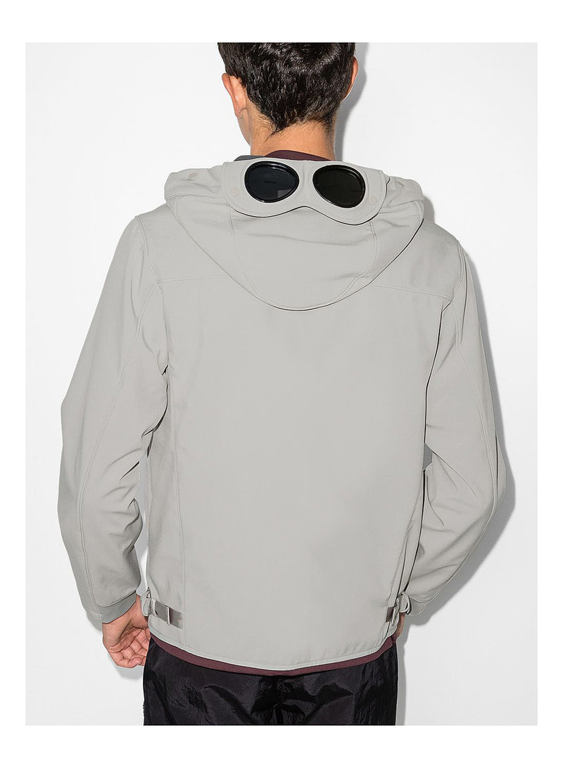 Hooded Soft Shell Jacket - Quiet Grey