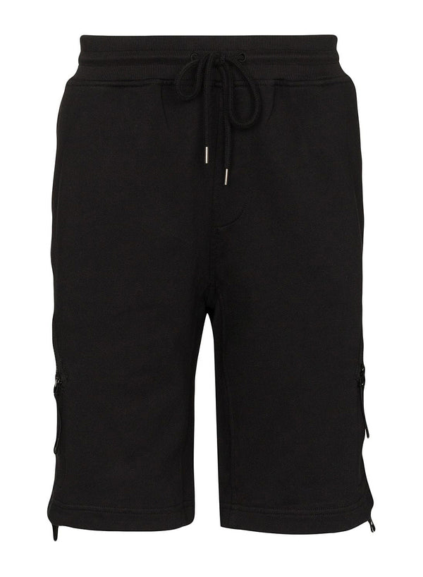 c p company wrap around zip shorts black ss 2020