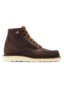 danner bull run moc toe 6 boot brown ss 2021