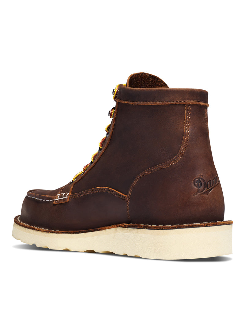 "Bull Run Moc Toe 6"" Boot - Brown"