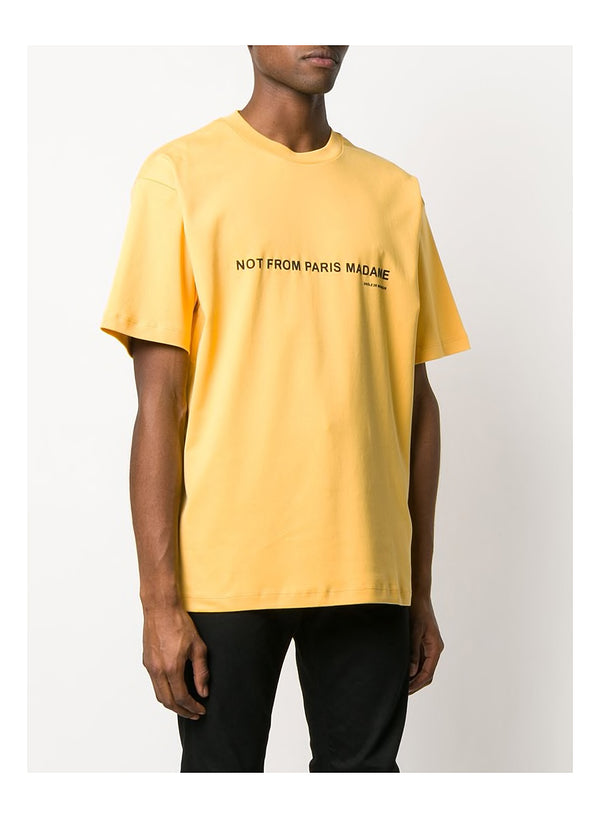 Printed NFPM Tee - Yellow