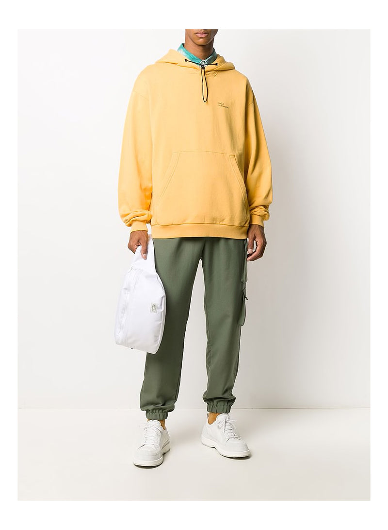 Wool Cuffed Cargo Pants - Khaki