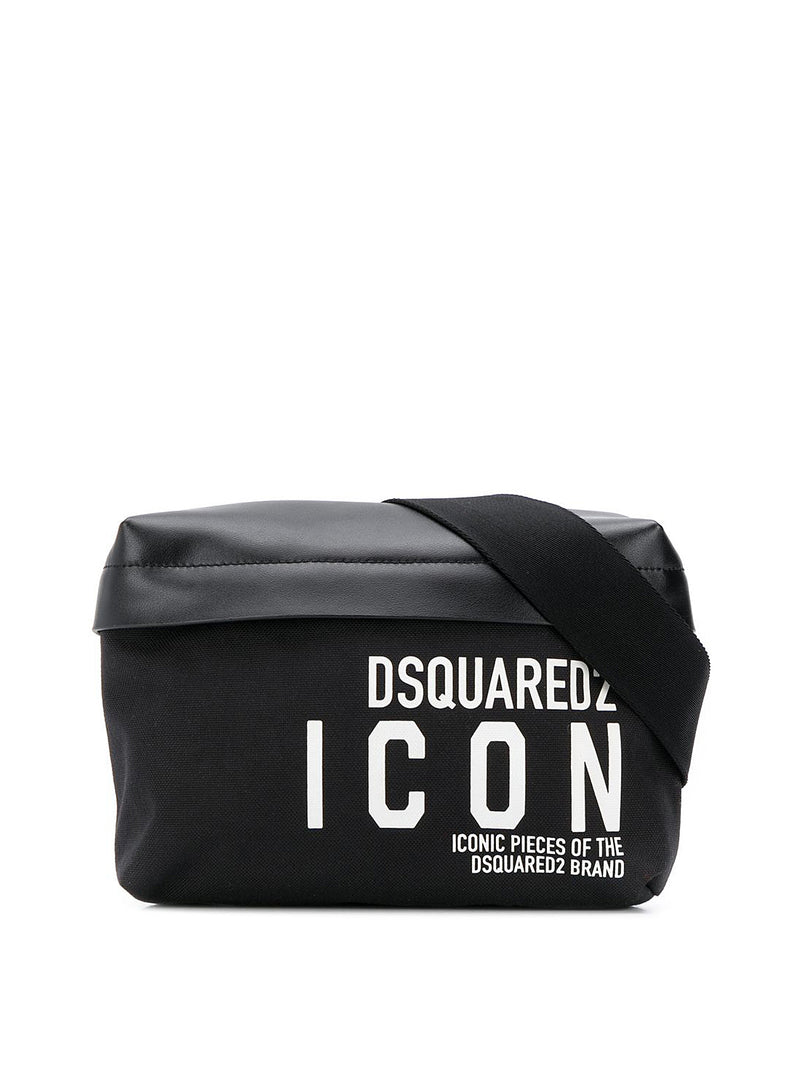 dsquared2 icon belt bag black white ss 2020