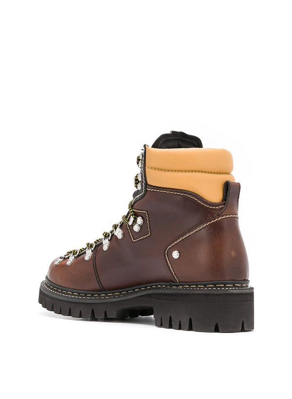 Ankle Hiking Boot - Brown