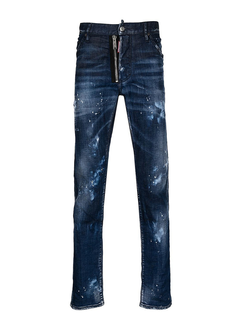 dsquared2 bleached spots cool guy jean mid wash ss 2021