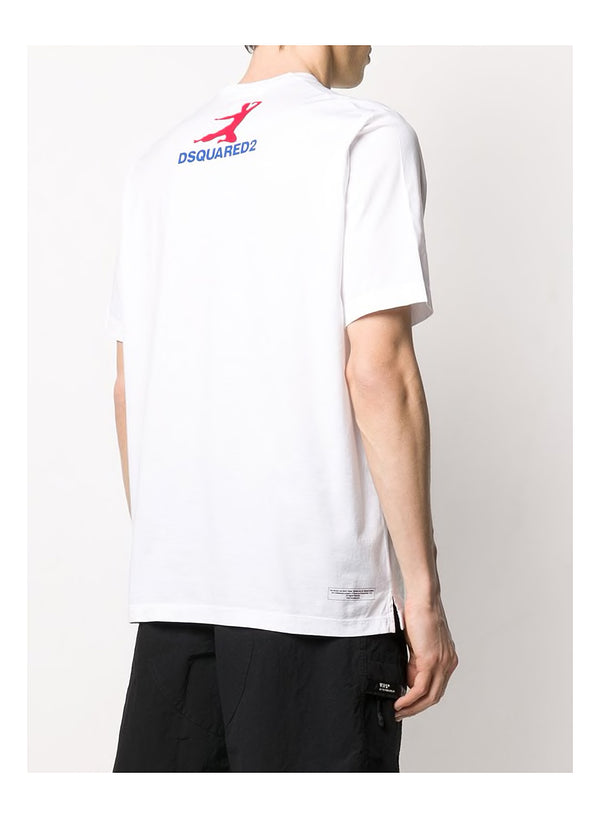 Bruce Lee Slouch Tee - White