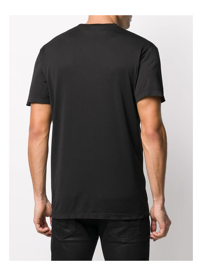 Cool Fit Maple Leaf  Tee - Black