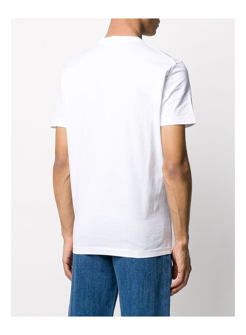 Cool Fit Square Logo Tee - White