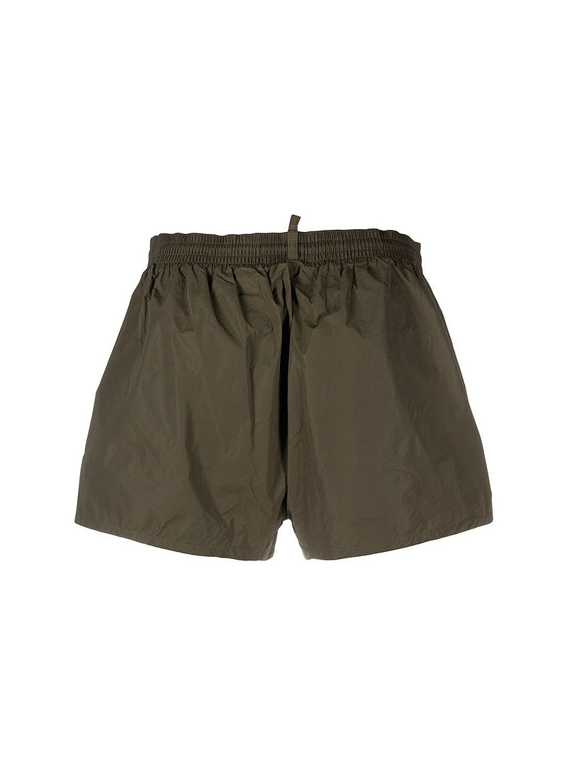 Dsquared2 Branded Swim Shorts - Green