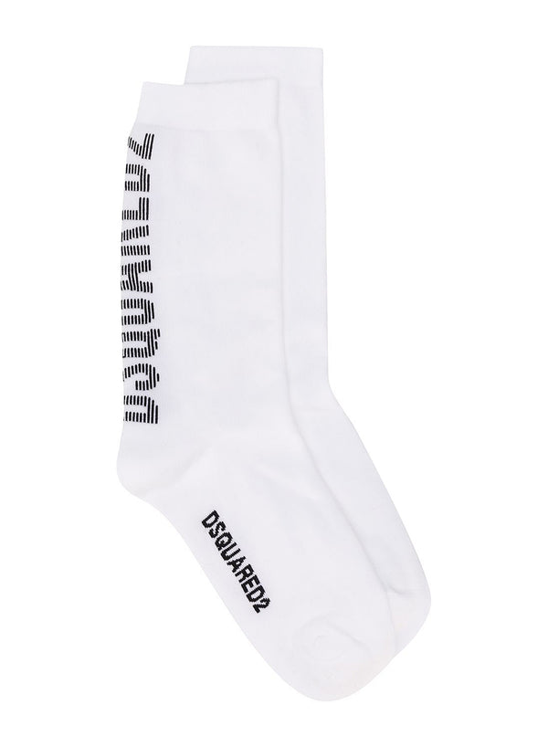 dsquared2 dsquared2 socks white aw 2020