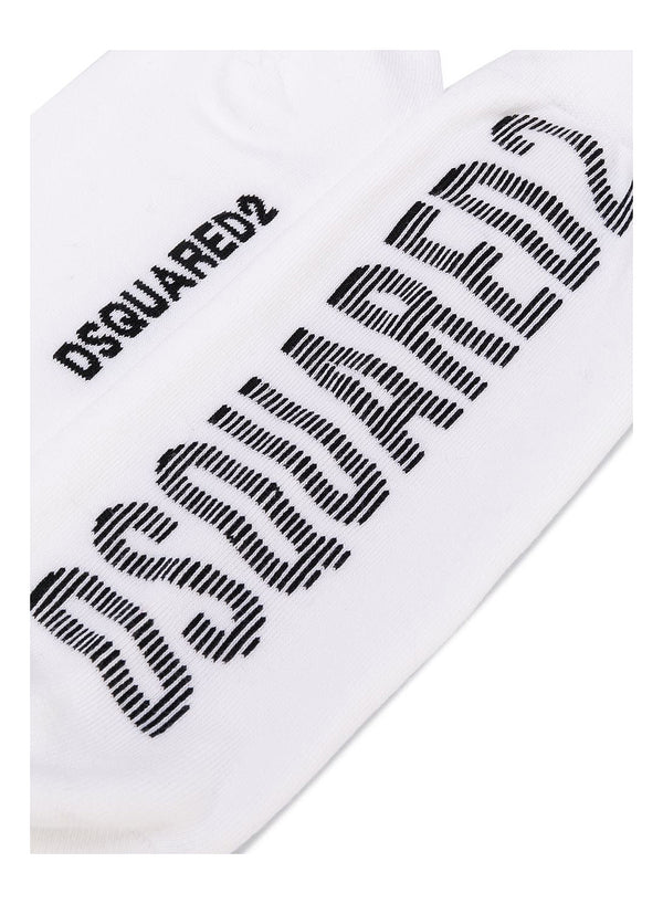 Dsquared2 Socks - White