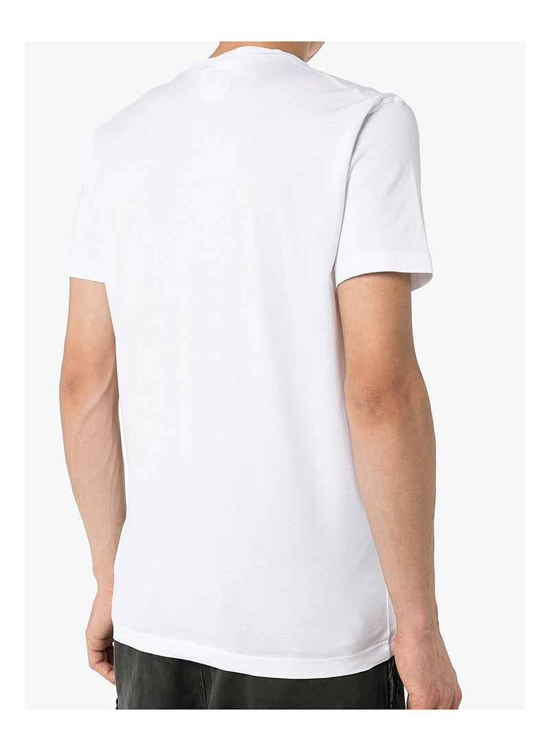 Dyed Cool Fit Tee - White