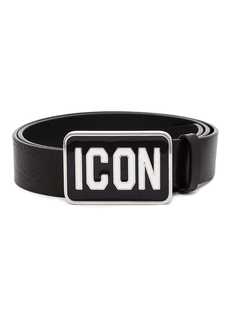 dsquared2 icon belt black white aw 2020