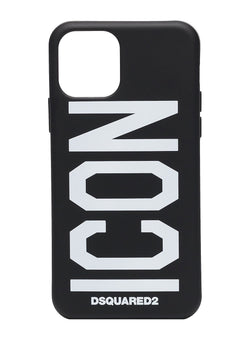 dsquared2 icon iphone 11 case black aw 2020