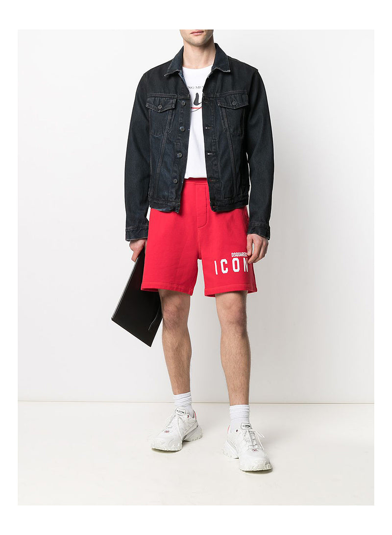 Icon Shorts - Red
