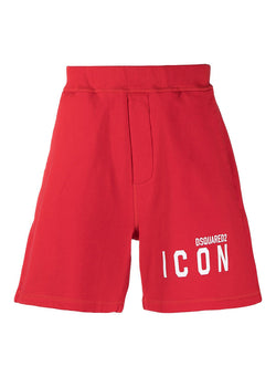 dsquared2 icon shorts red ss 2021