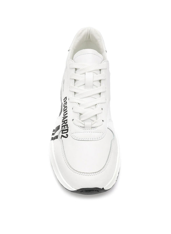 Light Sole Icon Sneakers - White