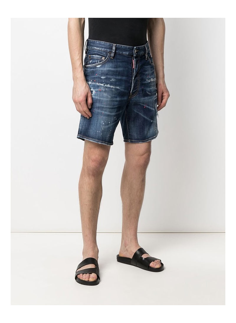 Made With Love Denim Shorts - Blue