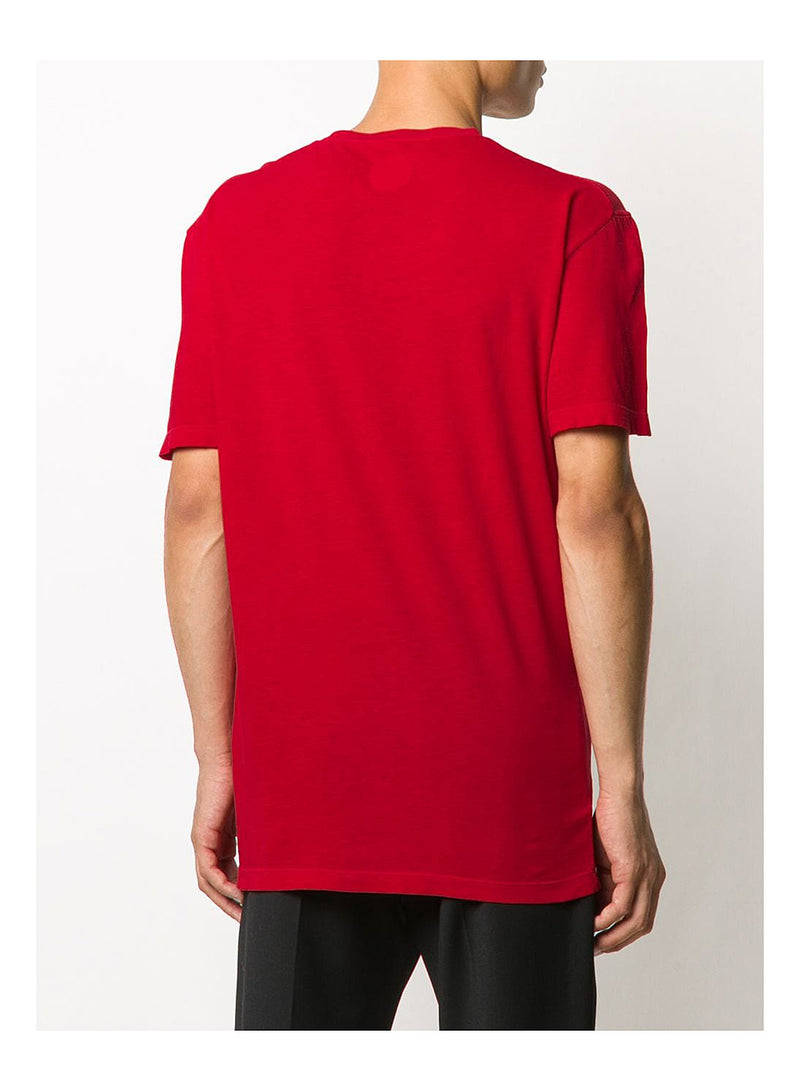 Milano Maple Leaf Tee - Red