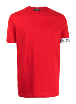 dsquared2 round neck tee red ss 2021