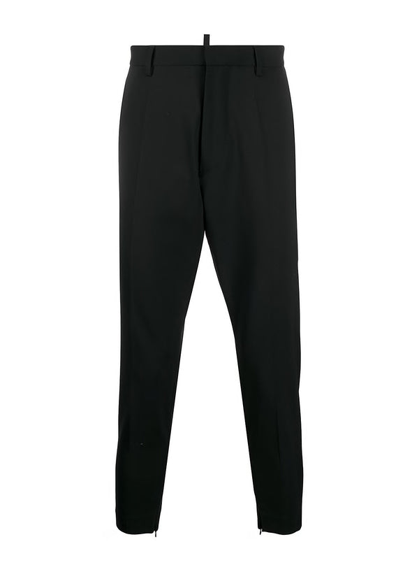 dsquared2 skinny techno fit trouser black ss 2020