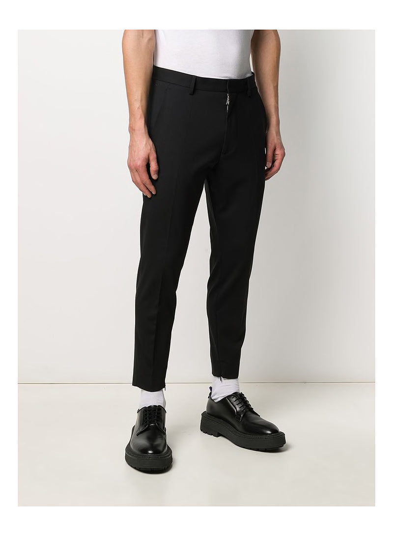 Skinny Techno Fit Trouser - Black