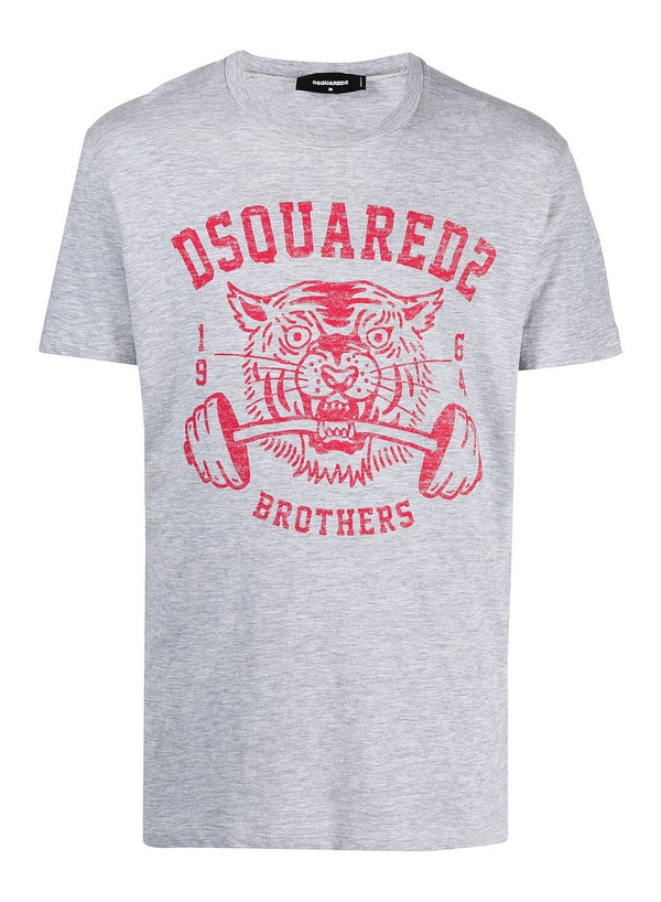 dsquared2 tiger weight tee grey ss 2021