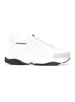 dsquared2 vitello high sole sneaker white aw 2020