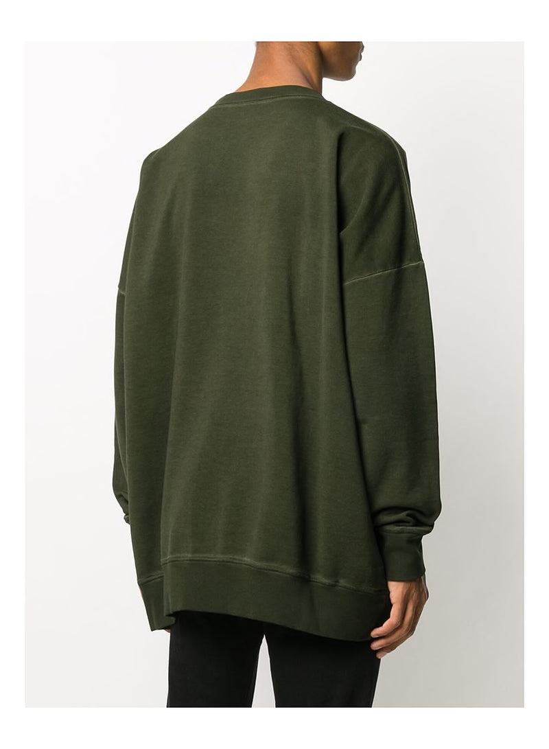 Yoyo Fit Oversized Sweatshirt - Green