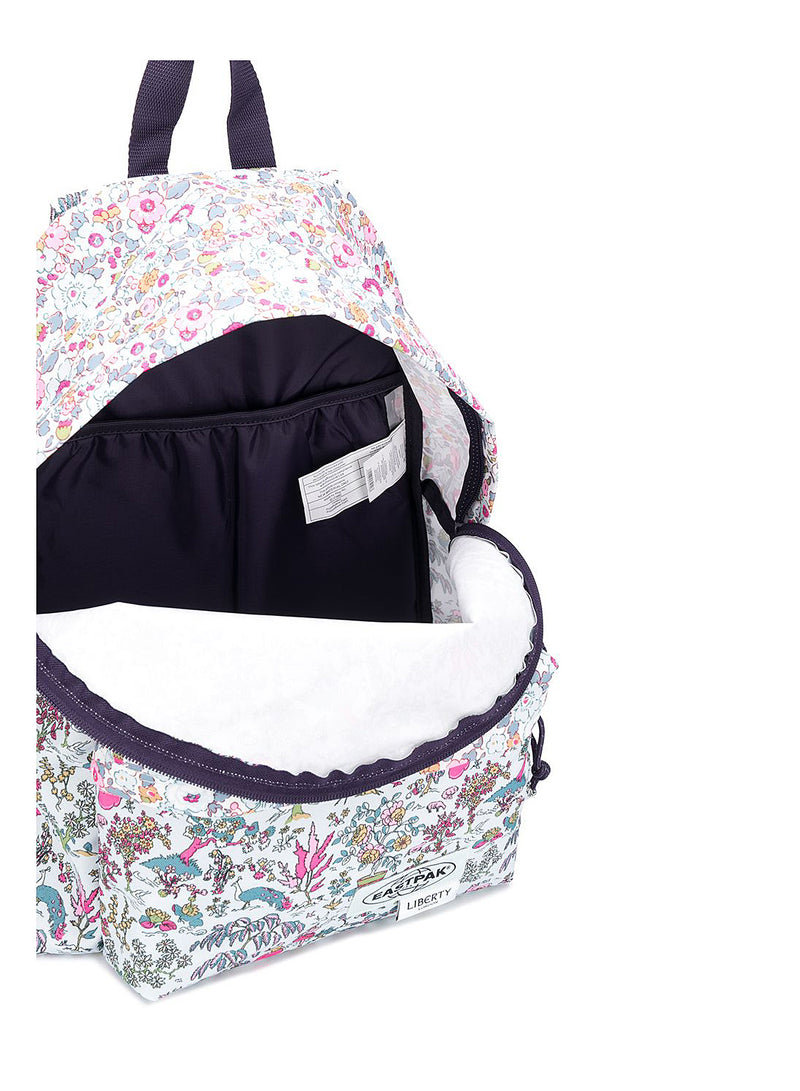 Floral Peacock Padded Pak'r  - Liberty Light