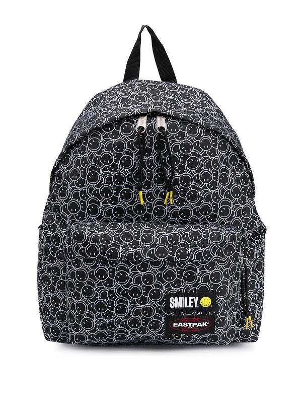 eastpak x smiley padded pakr aop smiley face backpack smiley mini ss 2020