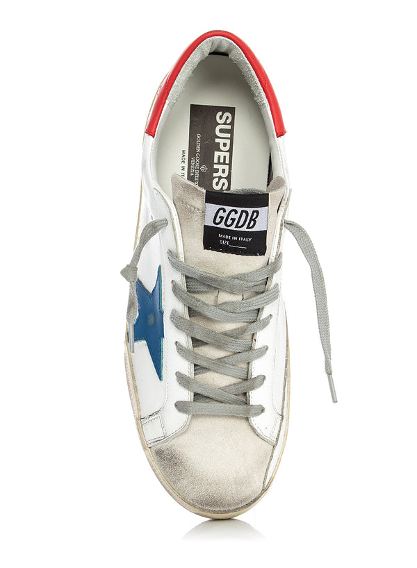 Superstar Trainer - White/Blue/Red