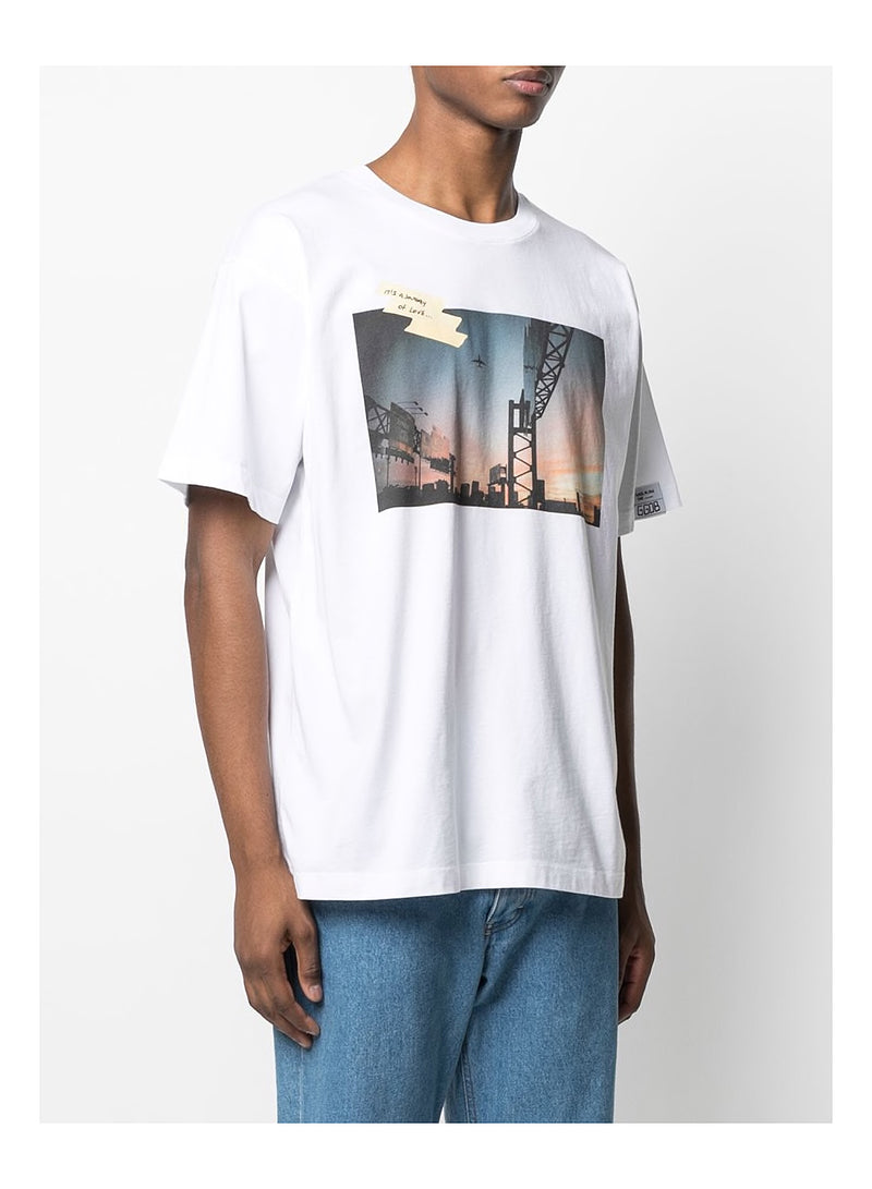 Artu Sunset tee - White/Multi