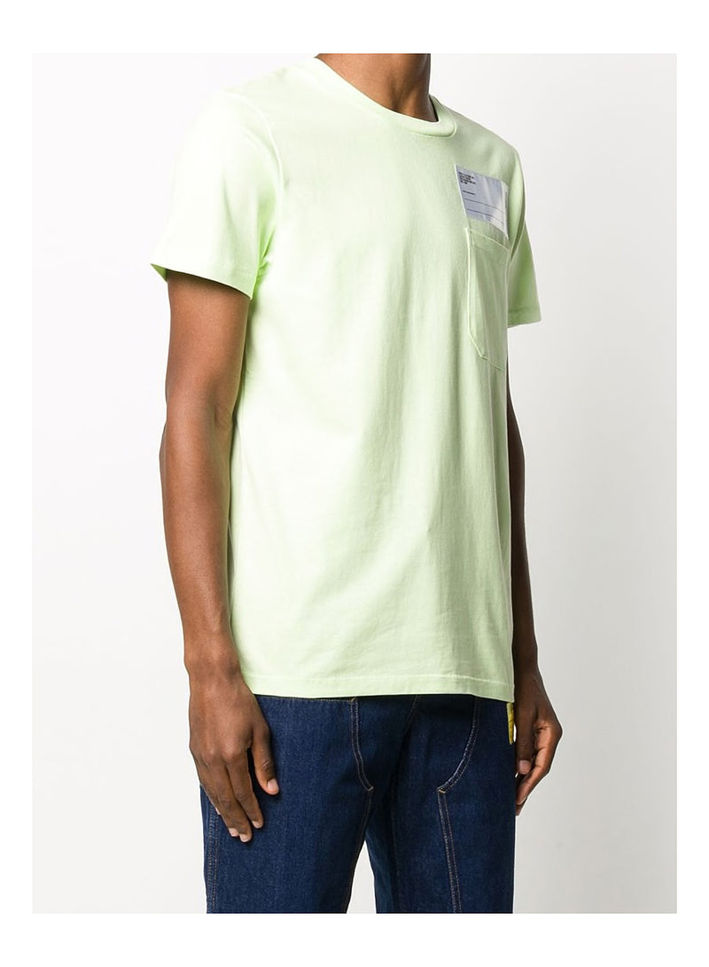 Heavy Pocket Tee Industry - Electric Yellow